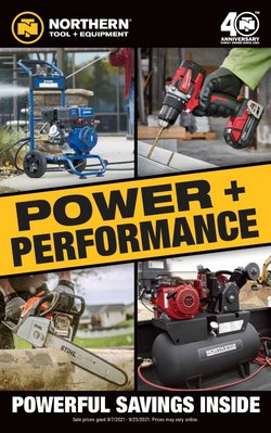 Tools & Hardware deals in the Northern Tool + Equipment catalog ( 6 days left)