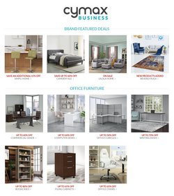 Cymax catalogue ( Published today )