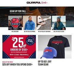 Olympia Sports deals in the Olympia Sports catalog ( 7 days left)