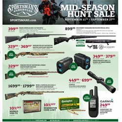 Sportsman's Warehouse catalogue ( 2 days left )