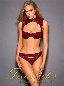 Lingerie deals in the Frederick's of Hollywood weekly ad in New York