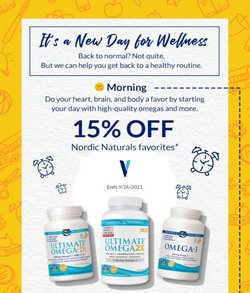 The Vitamin Shoppe deals in the The Vitamin Shoppe catalog ( Expires tomorrow)