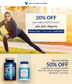 Beauty & Personal Care deals in the The Vitamin Shoppe catalog ( Published today)
