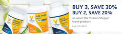 The Vitamin Shoppe deals in the New York weekly ad