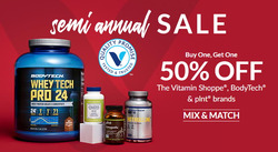The Vitamin Shoppe coupon ( 8 days left )