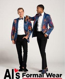 Al's Formal Wear deals in the Al's Formal Wear catalog ( More than a month)