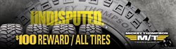 Automotive deals in the Discount Tire weekly ad in Humble TX