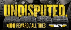 Discount Tire catalogue ( Expired )