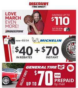 Automotive offers in the Discount Tire catalogue in Dallas TX ( 3 days ago )