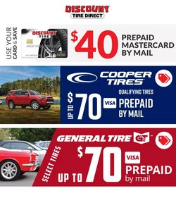 Automotive offers in the Discount Tire catalogue in Sugar Land TX ( 5 days left )
