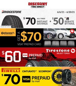 Discount Tire deals in the Discount Tire catalog ( Expired)
