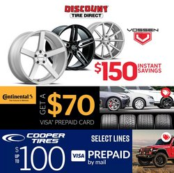 Discount Tire deals in the Discount Tire catalog ( Published today)