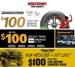 Automotive deals in the Discount Tire catalog ( 11 days left)