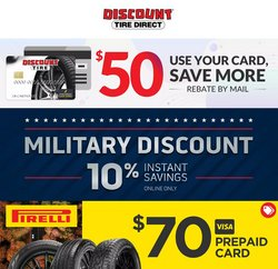 Automotive deals in the Discount Tire catalog ( 3 days left)