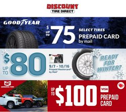 Automotive deals in the Discount Tire catalog ( 2 days left)