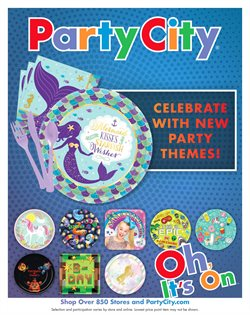 Party City deals in the Acworth GA weekly ad