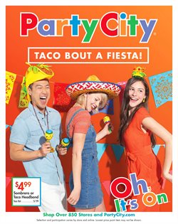 Kids, Toys & Babies deals in the Party City weekly ad in Houston TX