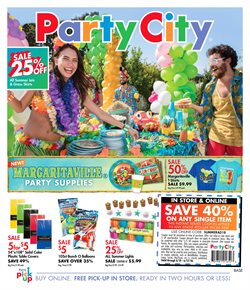 Kids, Toys & Babies deals in the Party City weekly ad in Minneapolis MN