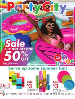 Kids, Toys & Babies deals in the Party City weekly ad in Evanston IL