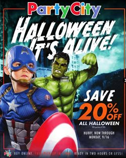 Party City deals in the Chicago IL weekly ad