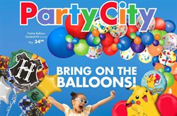 Party City catalogue ( 2 days left )