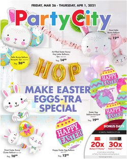 Party City catalogue in San Francisco CA ( Expired )