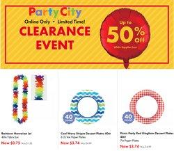 Party City catalog ( Expired)