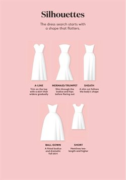 Skirt deals in the David's Bridal weekly ad in New York