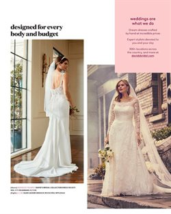 Dress deals in the David's Bridal weekly ad in Bayamon PR