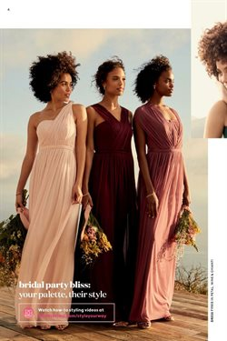 Dress deals in the David's Bridal weekly ad in Sioux Falls SD