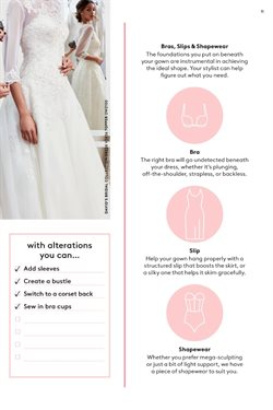 Bra deals in the David's Bridal weekly ad in New York