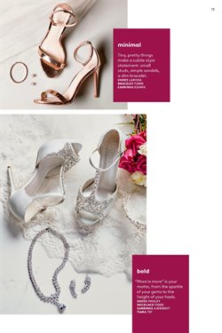 Sandals deals in the David's Bridal weekly ad in Minneapolis MN