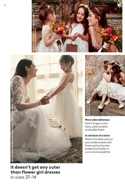 Women's shoes deals in the David's Bridal weekly ad in New York