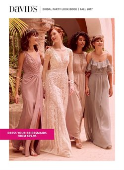 Dress deals in the David's Bridal weekly ad in Dallas TX