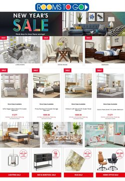 Home & Furniture offers in the Rooms To Go catalogue in Knoxville TN ( 18 days left )