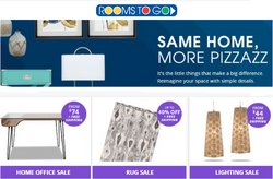 Home & Furniture deals in the Rooms To Go catalog ( Expires tomorrow)
