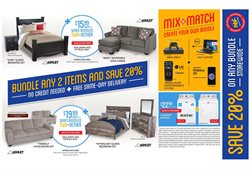 Mattress deals in the Rent a Center weekly ad in New York