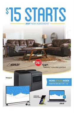Rent a Center deals in the Columbus OH weekly ad