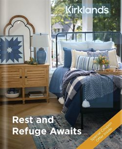 Home & Furniture offers in the Kirkland's catalogue in Kenner LA ( More than a month )