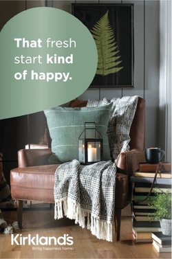 Home & Furniture deals in the Kirkland's catalog ( 17 days left)