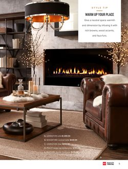 Chairs deals in the Value City Furniture weekly ad in Charleston WV