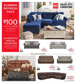 Home & Furniture deals in the Value City Furniture weekly ad in Roswell GA
