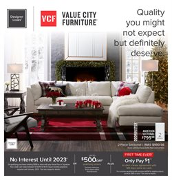 Home & Furniture deals in the Value City Furniture weekly ad in Mansfield OH
