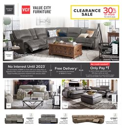Home & Furniture deals in the Value City Furniture weekly ad in Saint Petersburg FL