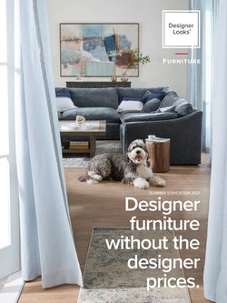 Home & Furniture deals in the Value City Furniture catalog ( 18 days left)