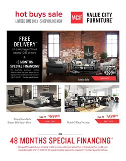 Value City Furniture Deals In The Bear DE Weekly Ad