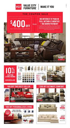 Value City Furniture Deals In The Duluth GA Weekly Ad