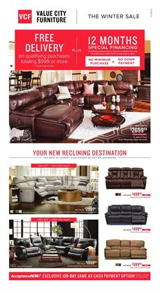 Value City Furniture deals in the Sterling VA weekly ad