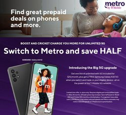 Electronics & Office Supplies deals in the MetroPCS catalog ( Published today)