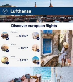 Travel & Leisure deals in the Lufthansa catalog ( Expires today)